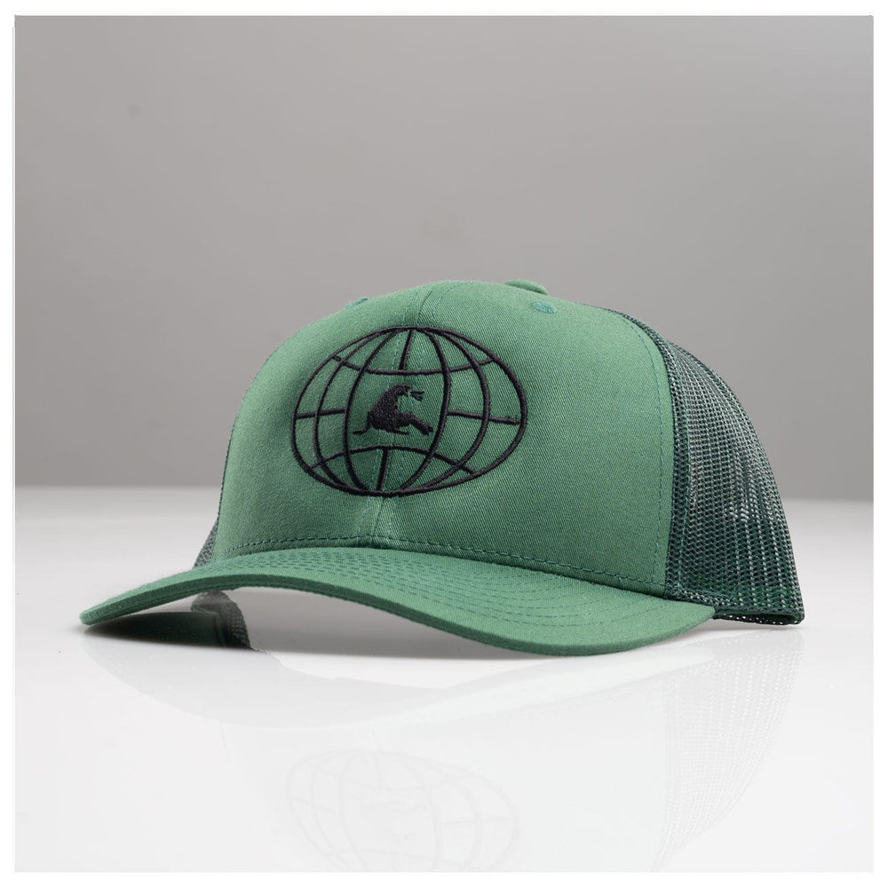 WATER WORLD RETRO TRUCKER // WINTERGREEN