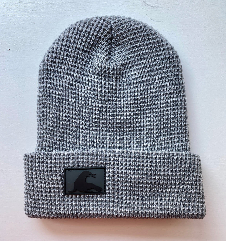 WAFFLE KNIT BEANIE // 4 COLORS