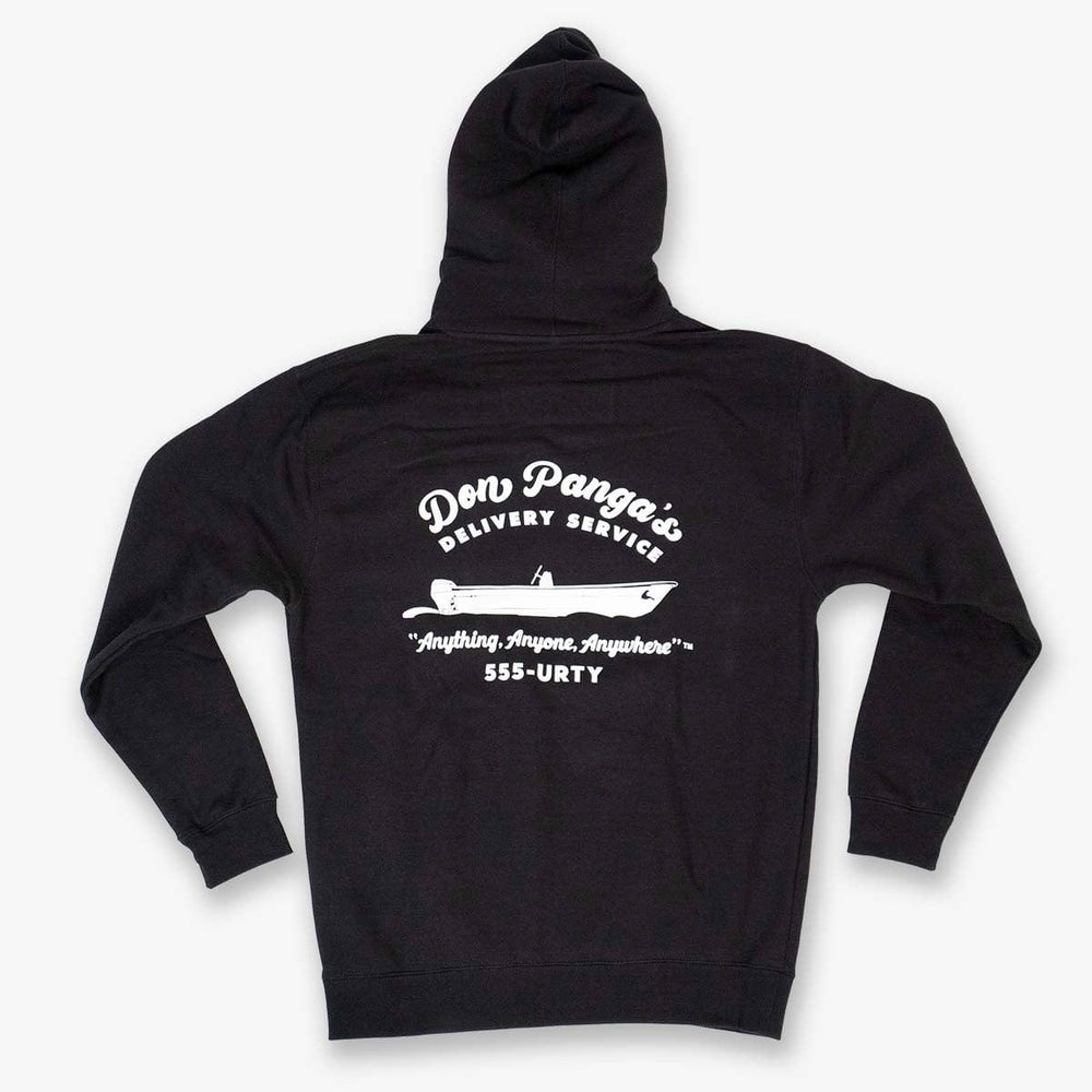 DON PANGA'S HEAVY HOODY // BLACK