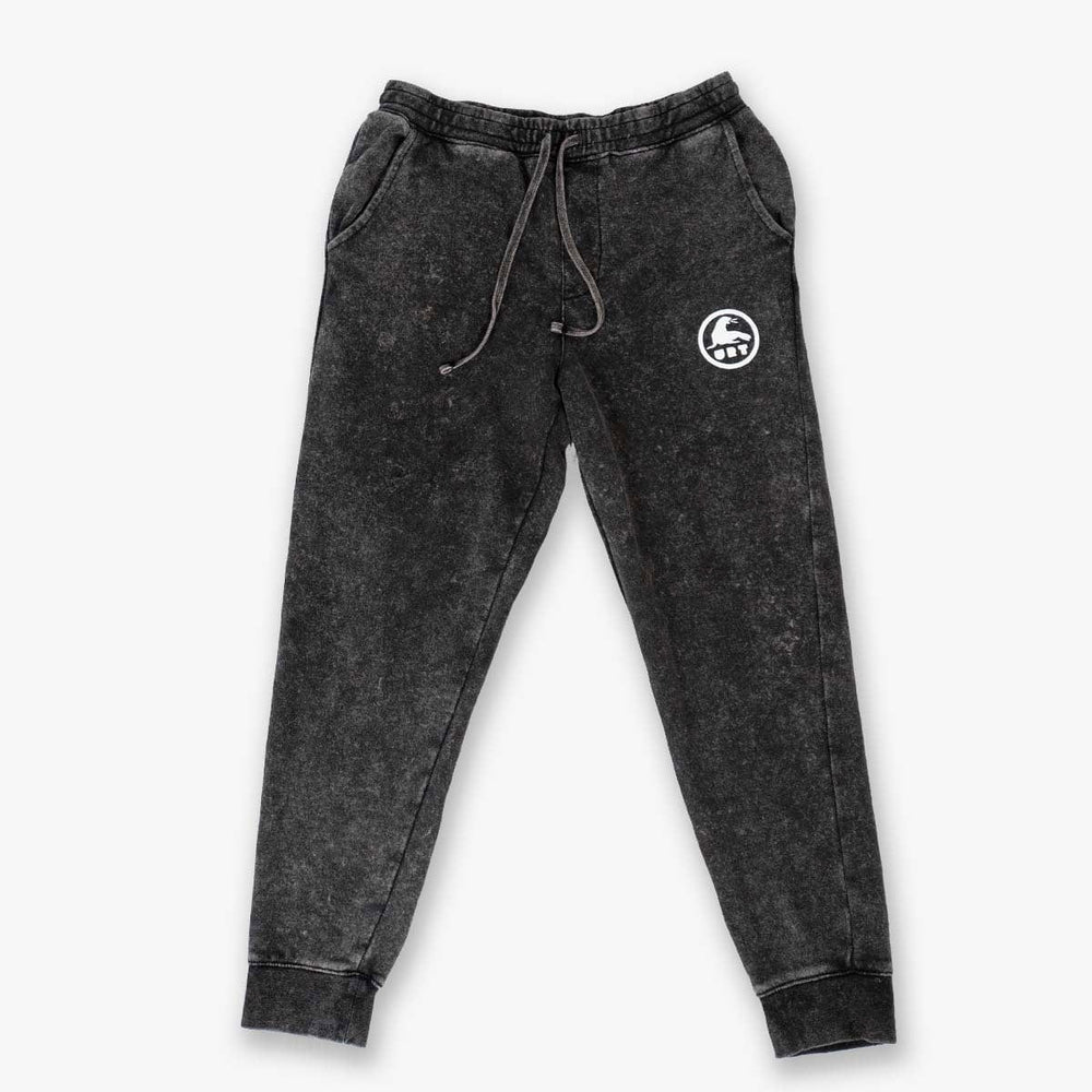 POST SURF SWEATS // MINERAL WASH BLACK