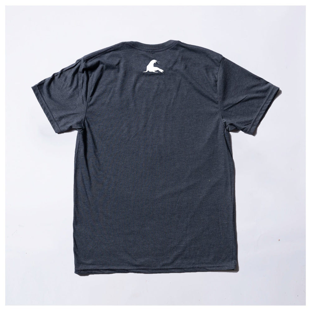 LIL USA EMBRODERY // NAVY HEATHER
