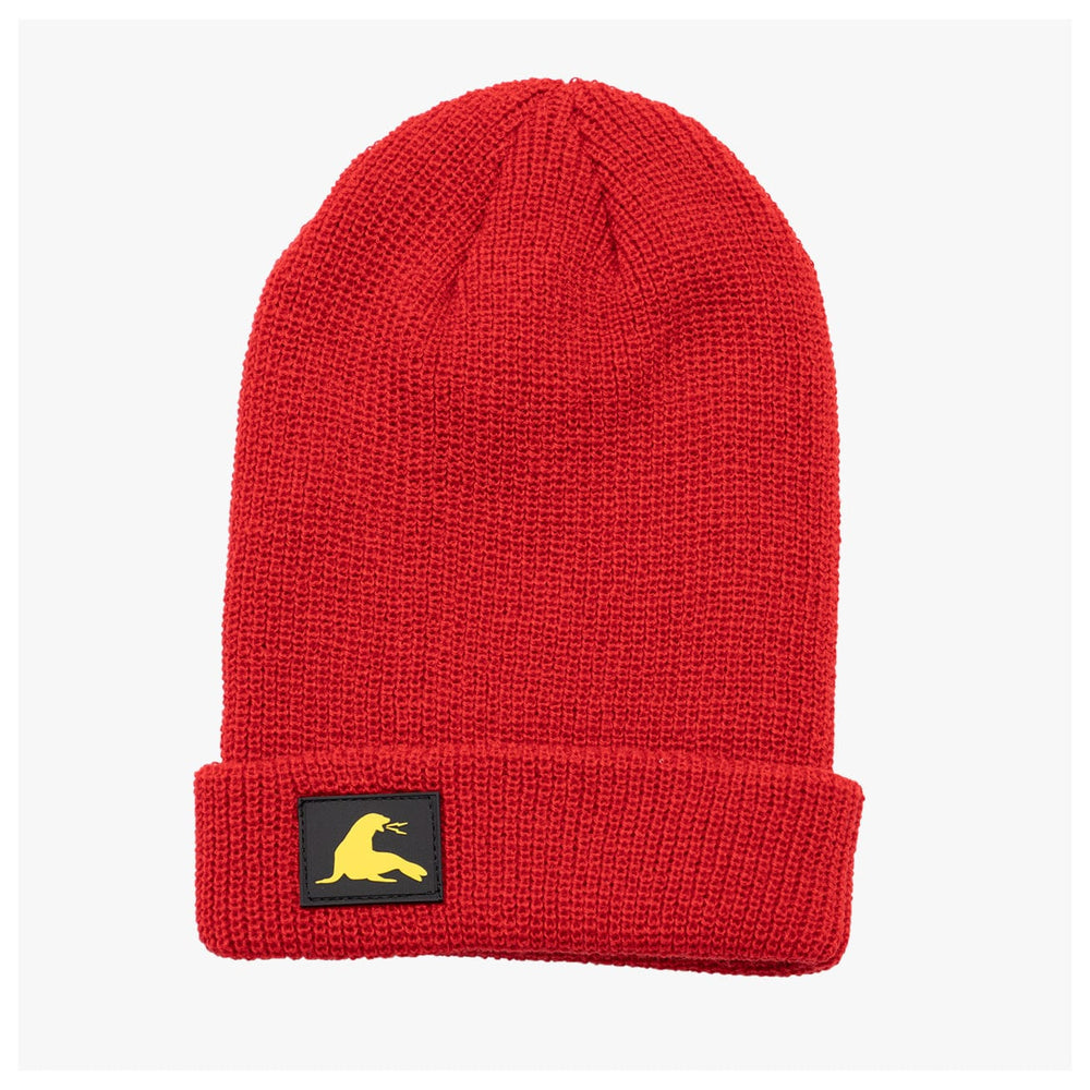 PVC PATCH BEANIE // 5 COLORS