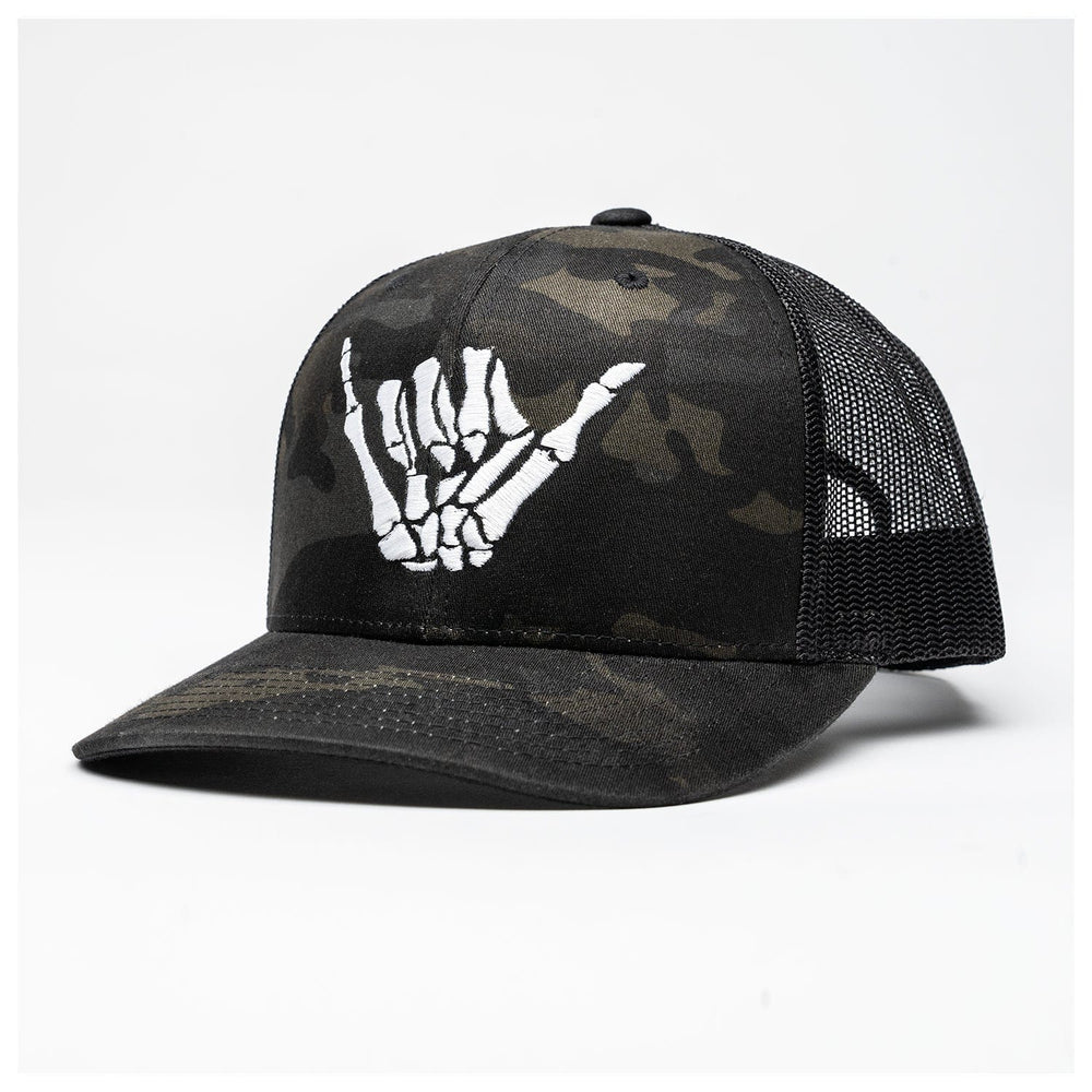 MULTICAM BONE SHAKA RETRO TRUCKER // 2 COLORS