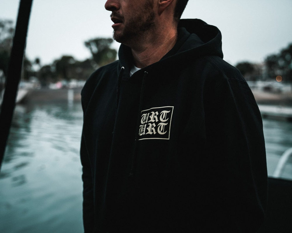 LOCALS ONLY HEAVYWEIGHT HOODY // BLACK