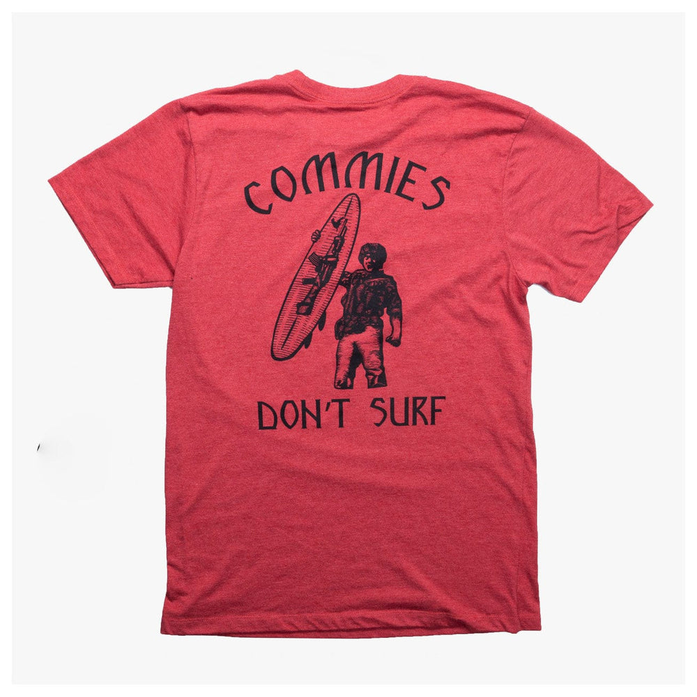 COMMIES DONT SURF // 4 COLORS
