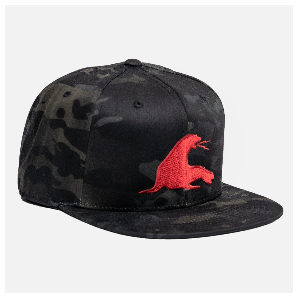 BIG URT MULTICAM SNAPBACK // BLACK MULTICAM