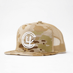 MULTICAM C4 FOUNDATION PUFF EMB CLASSIC TRUCKER // 3 COLORS