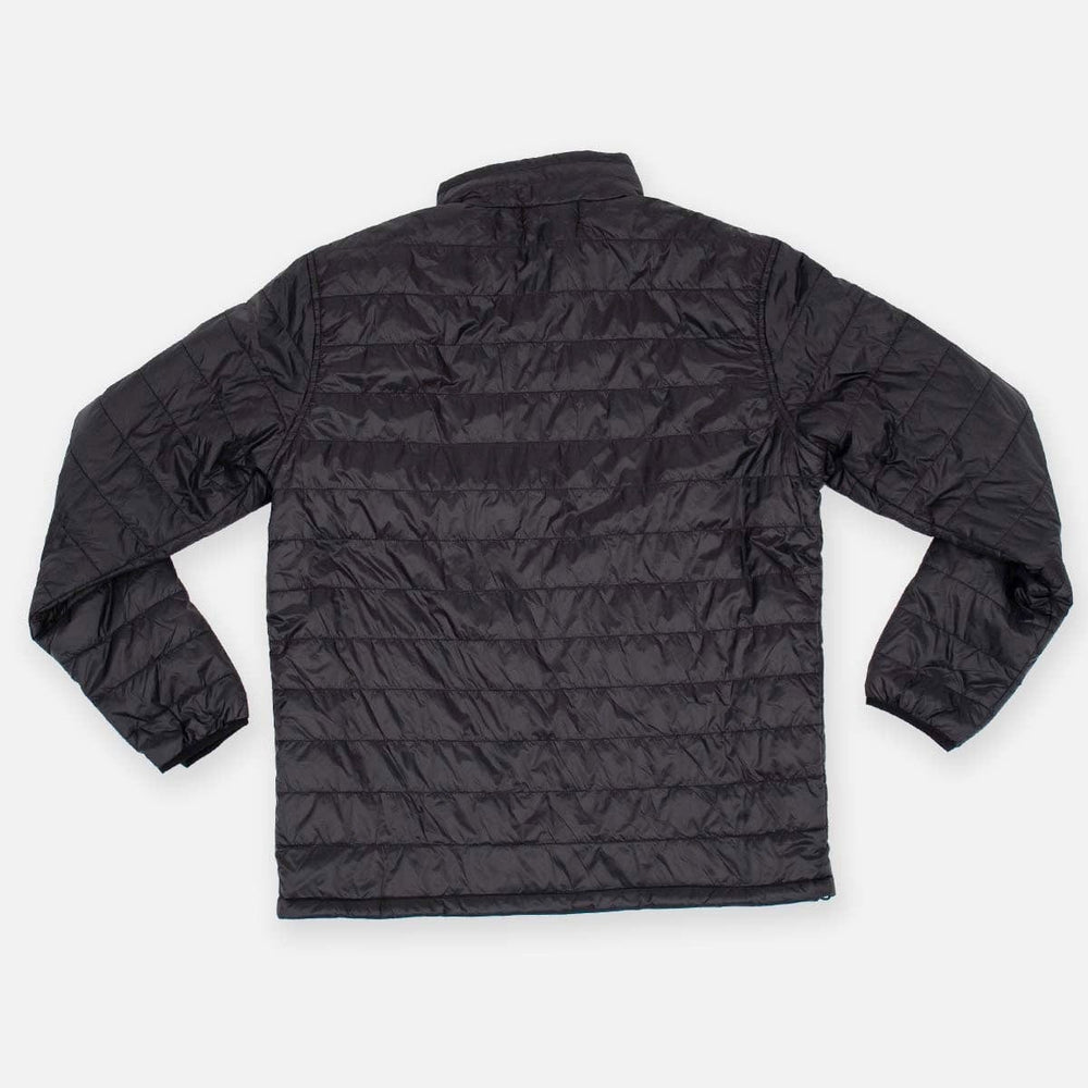BONE SHAKA MEN'S PUFF JACKET // BLACK