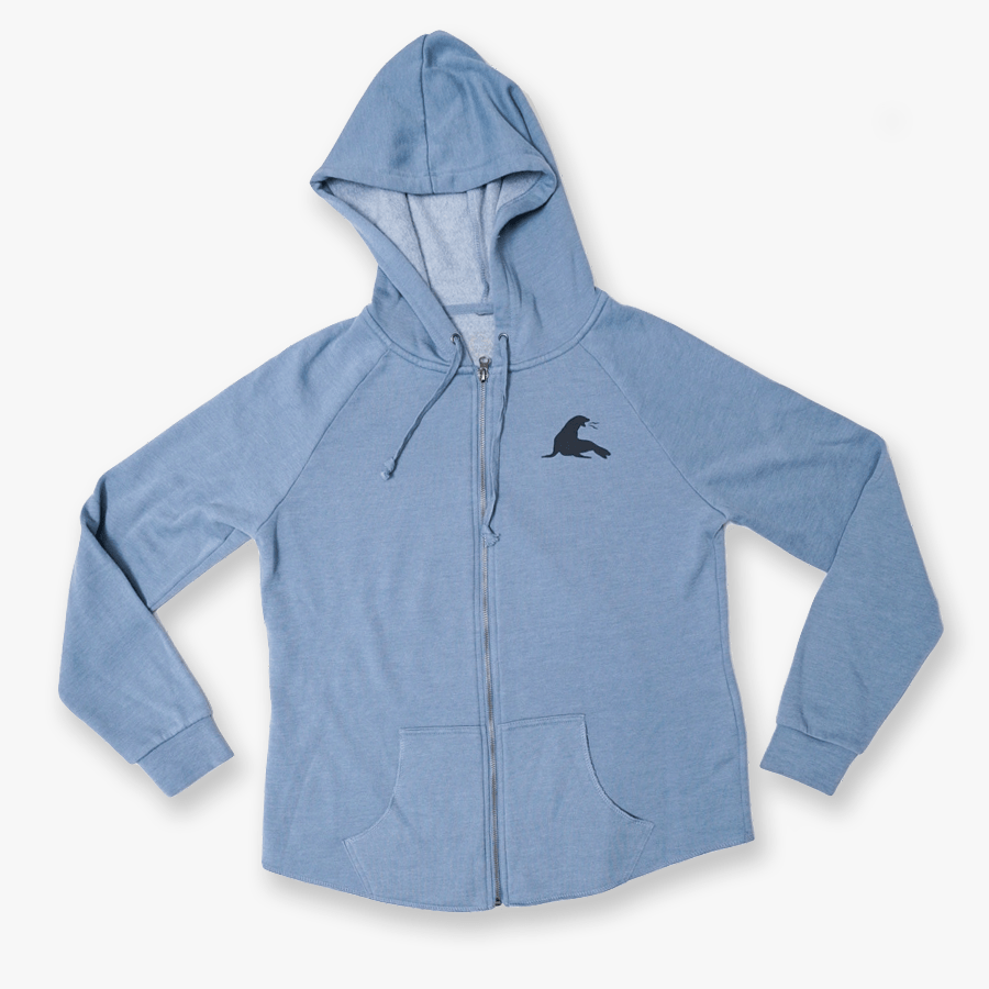 SOFT SAND ZIP HOODY // 2 COLORS