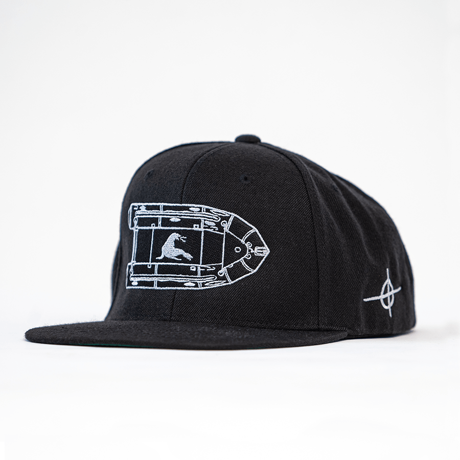 ZODIAK KILLERS SNAPBACK // BLACK