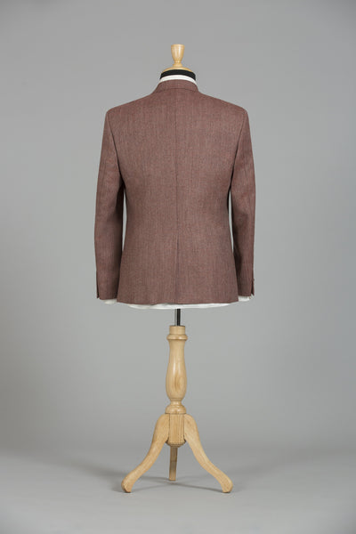 RUST BROWN BOSTON JACKET