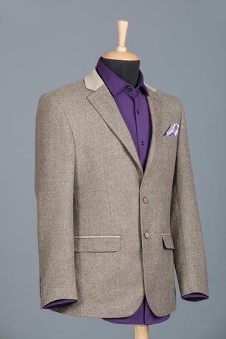 Tweed Jacket For Men