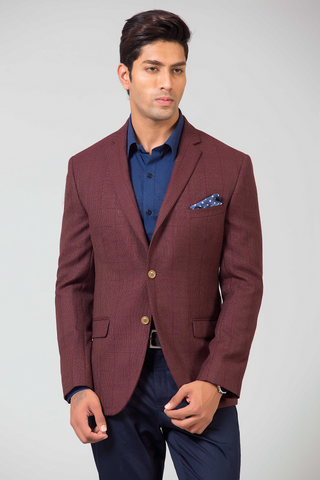 ROYAL MAROON JACKET