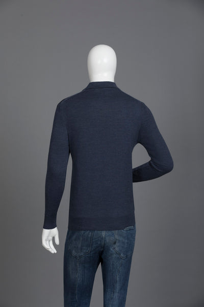Navy Casual Sweater