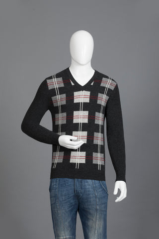 Charcoal Woollen  Sweater