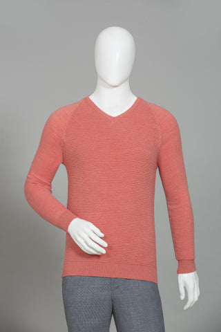 CARROT V-NECK SWEATER