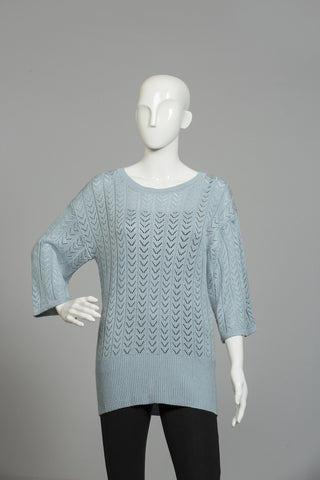 OPAQUE ROUND NECK SWEATER
