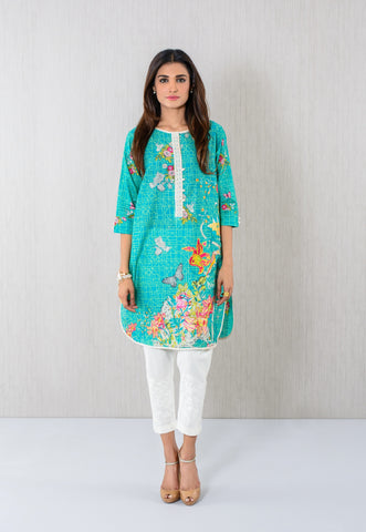 Geometric embroidred Kurta
