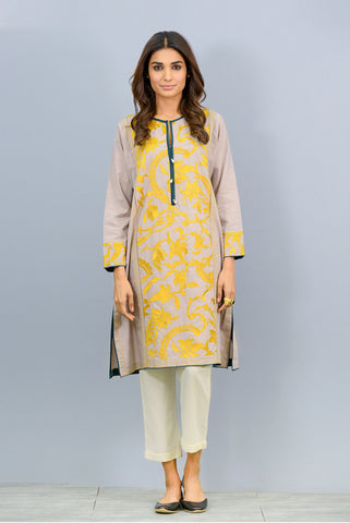 Front embroidered Kurta