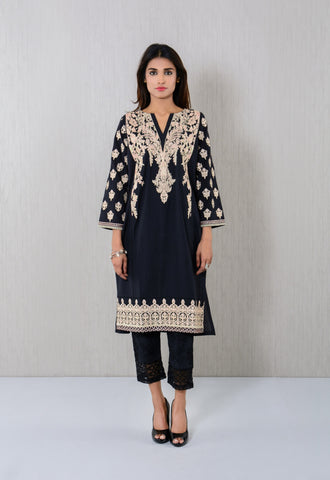 Floral embroidered Kurta