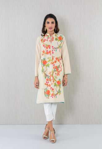 Zarih embroidered  Kurta