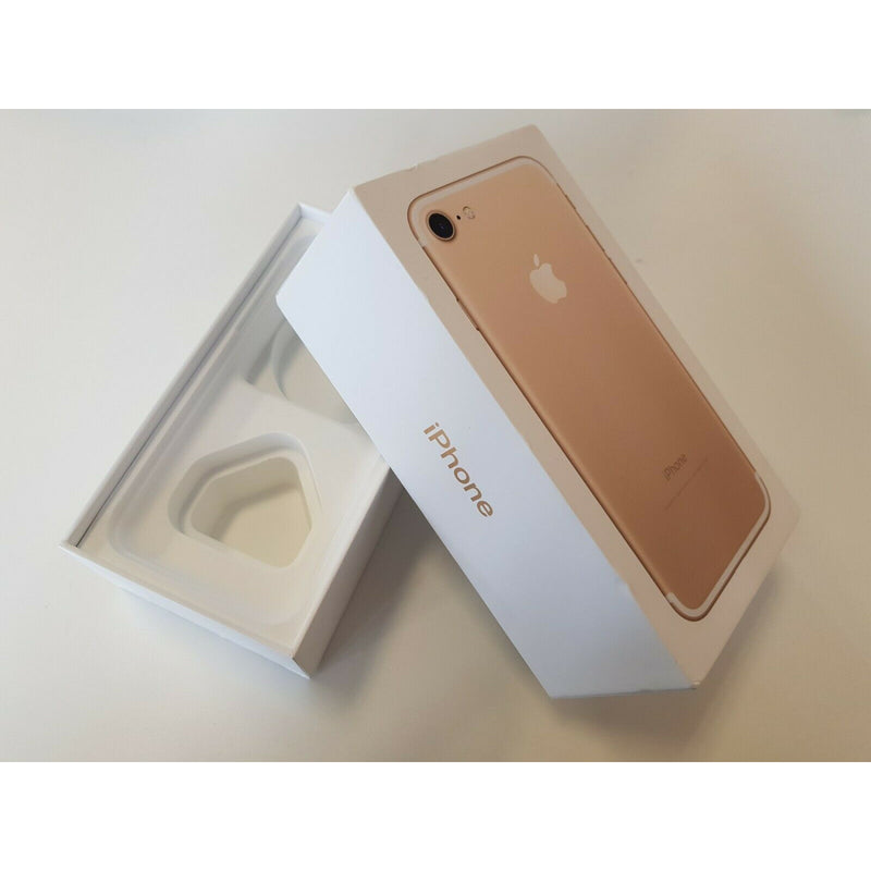 Apple iPhone 7 - EMPTY BOX RETAIL UK - Rose Gold/Gold/Silver/Black/Jet Black/Red