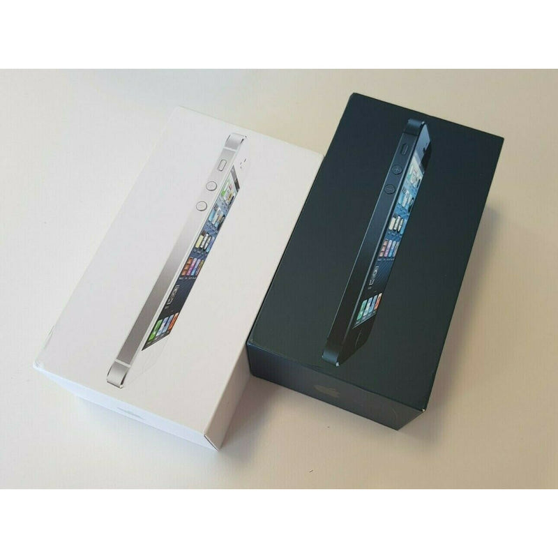 Apple iPhone 5 - EMPTY BOX RETAIL UK - White/Black