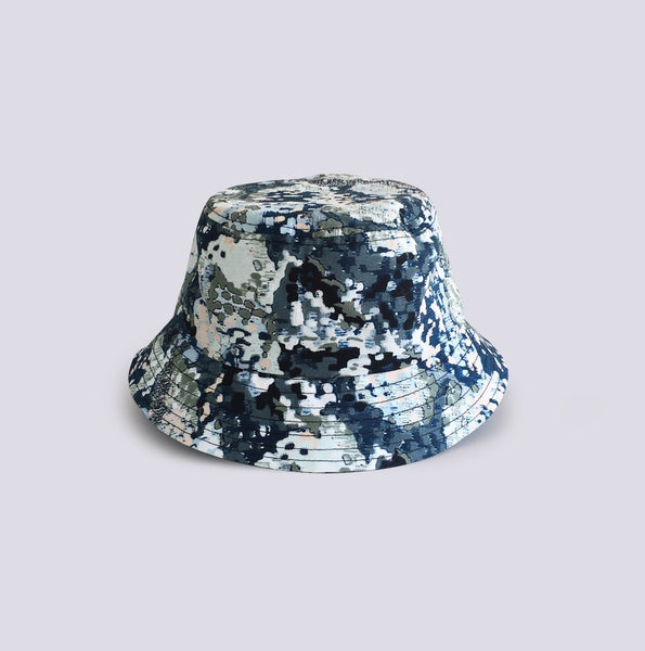 Abstract Printed Bucket Hat Multicolour