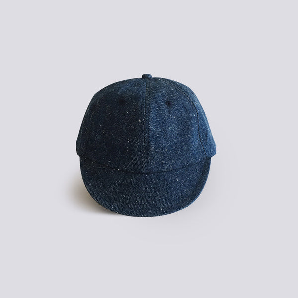 Denim Short Brim Cap Blue
