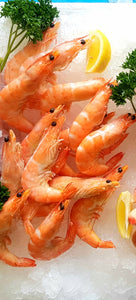 Large Whole Cooked Prawns
