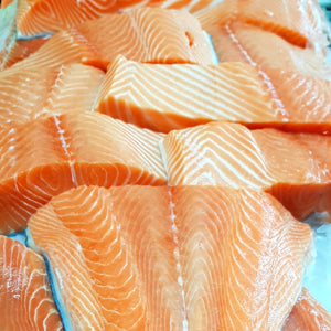 Salmon Fillets Skin on