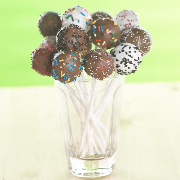 Paper Cake Pop Sticks
