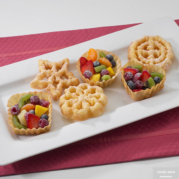 Traditional Swedish Rosette Cookie Set