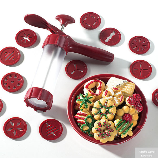 Deluxe Spritz Cookie Press