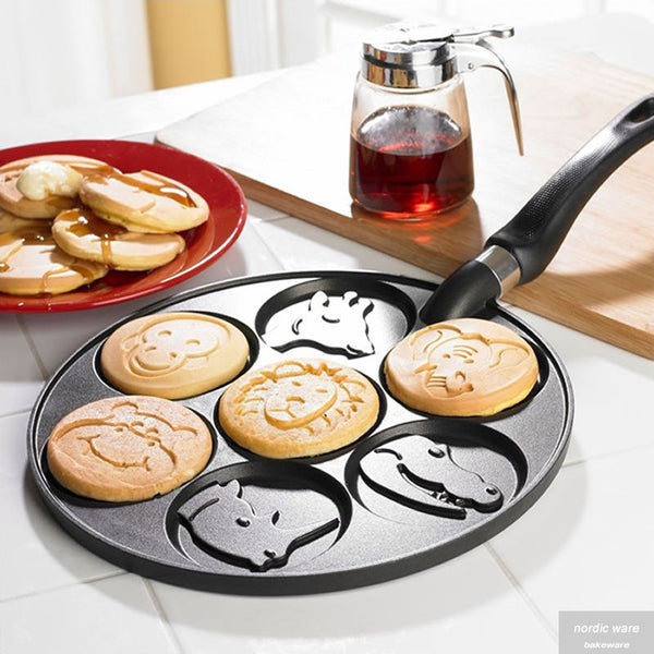Zoo Friends Pancake Pan