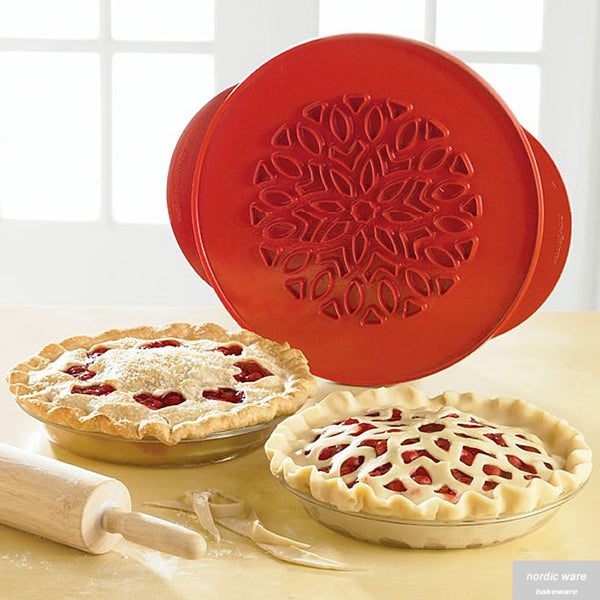 Lattice & Hearts Reversible Pie Top Cutter