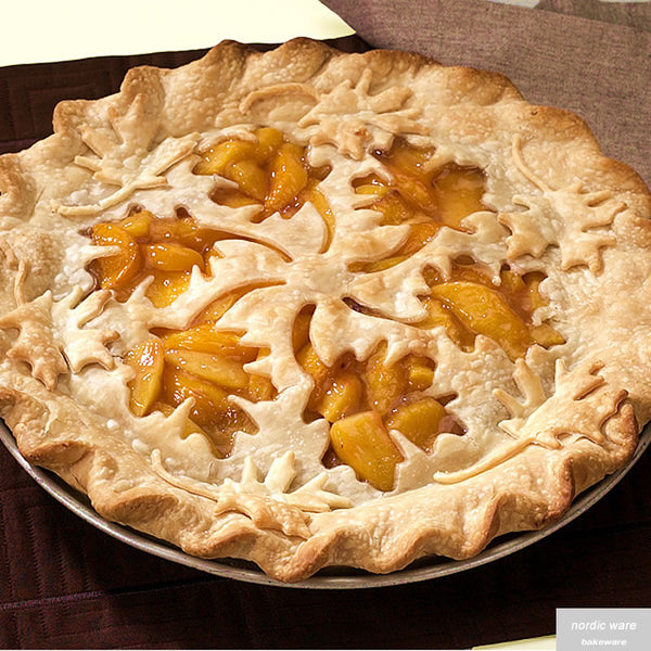 Leaves & Apples Reversible Pie Top Cutter