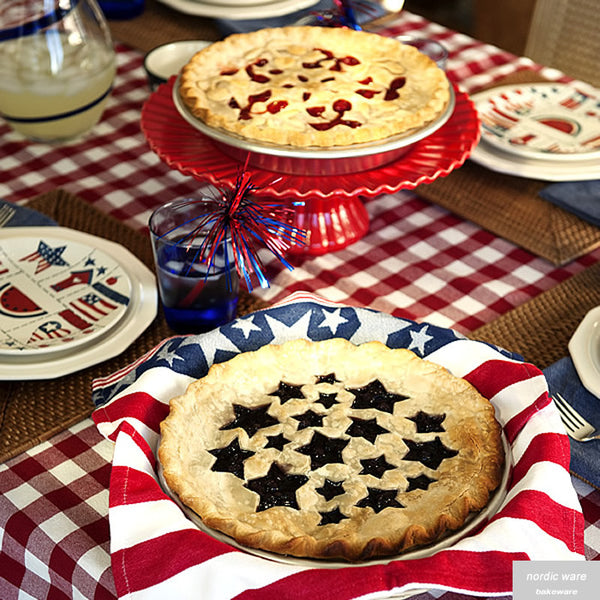 Stars & Cherries Pie Top Cutter