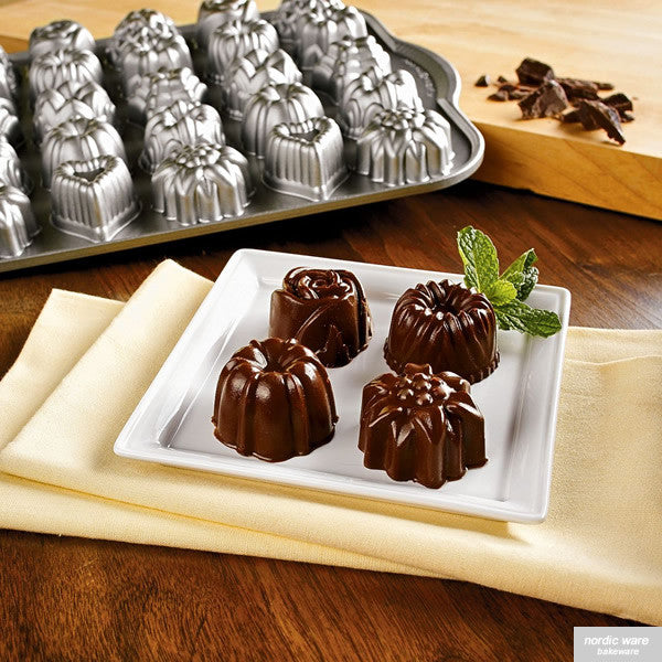 Bundt Tea Cakes and Candies Pan