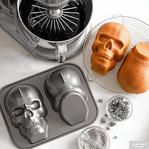 Haunted Skull Pan