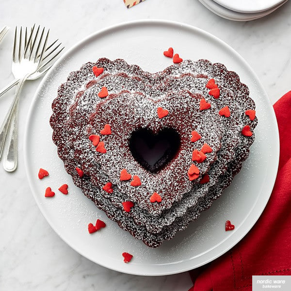 Tiered Heart Bundt Pan