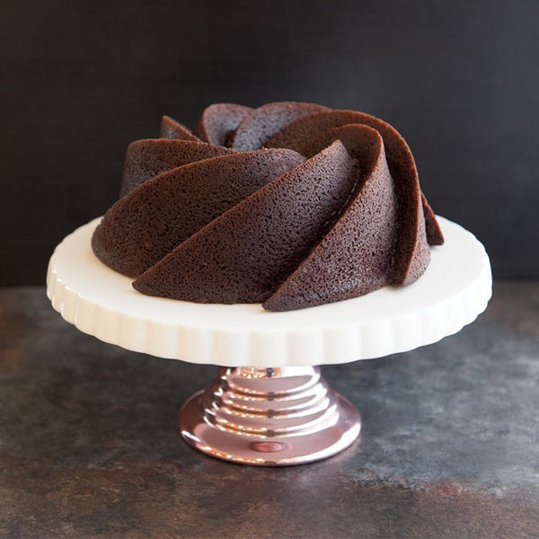 6 Cup Heritage Bundt Pan, Gold Collection