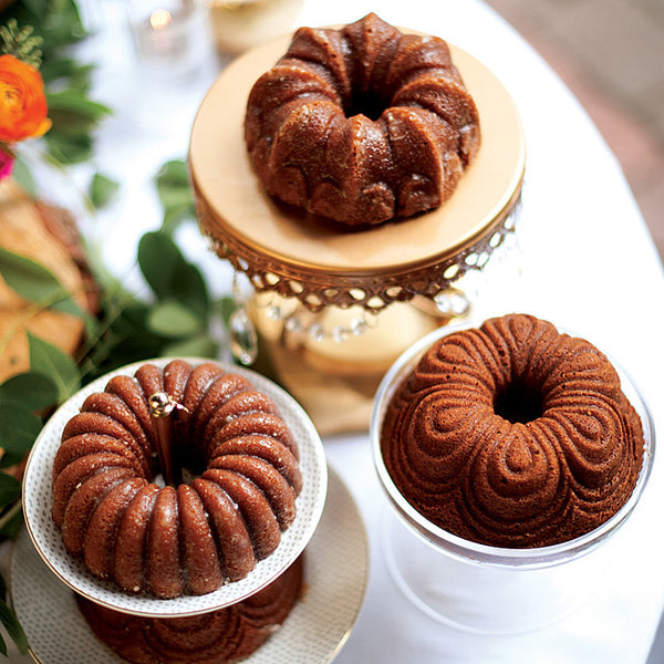Bundt Quartet Pan, Gold Collection