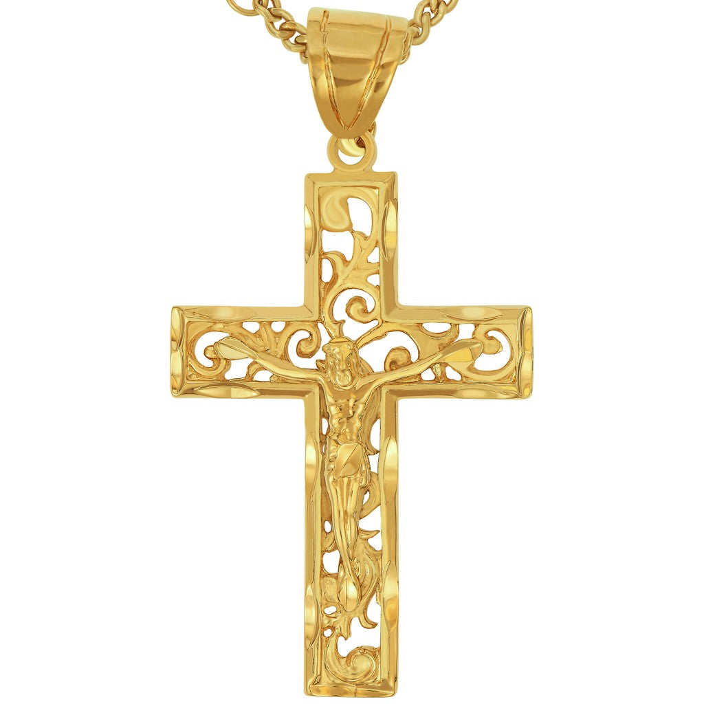 Large Filigree Cross