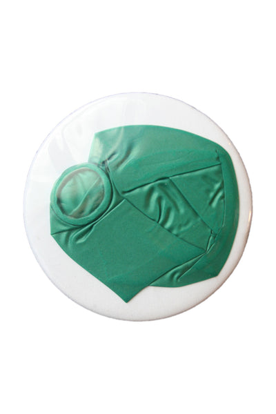 Badge Taste <br> Squashed Green Balloon