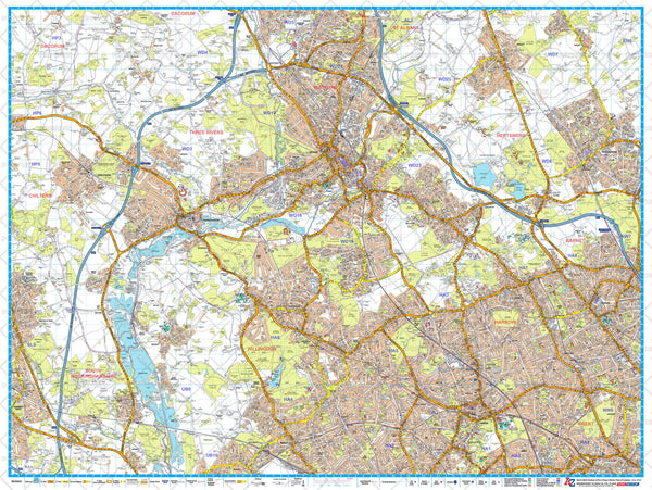 A-Z London Master Plan - North West