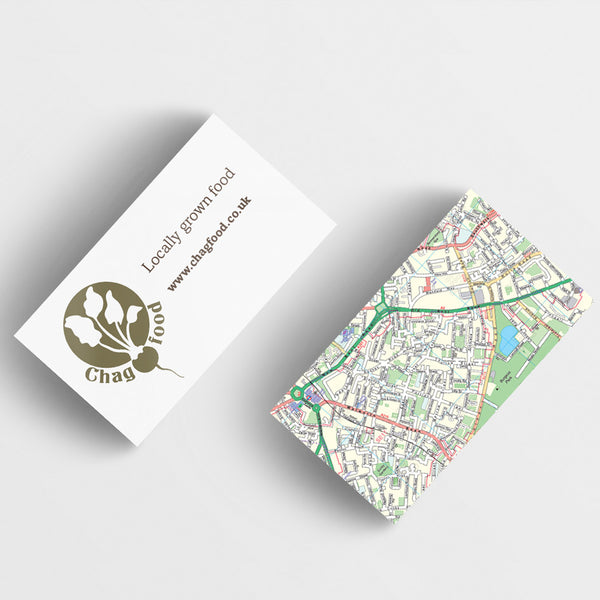 250 silk laminated Business cards