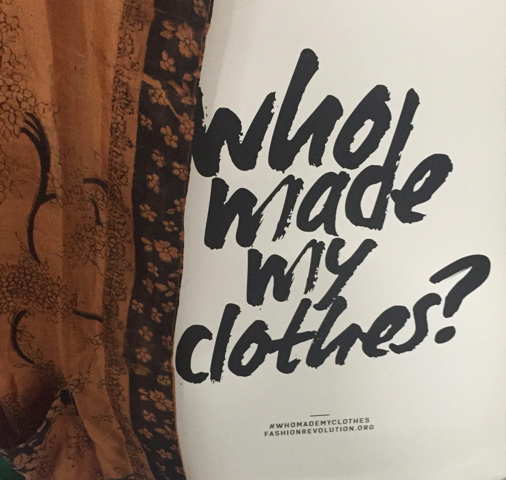 We Are. Slow Clothing. Fashion Revolution.