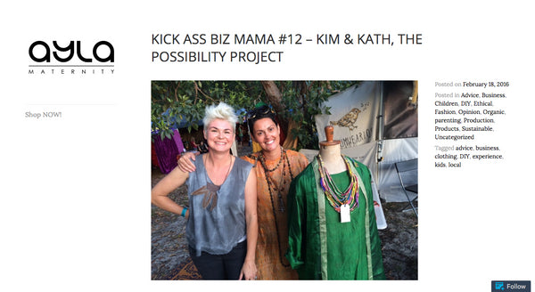 BizMama Features The Possibility Project