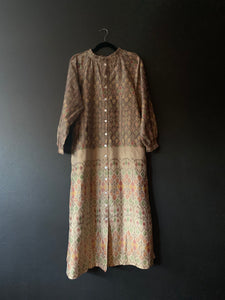 The Long Sleeve Faith Dress - Gorgeous Ikat